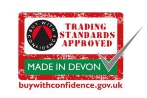 Buy With Confidence Made in Devon logo