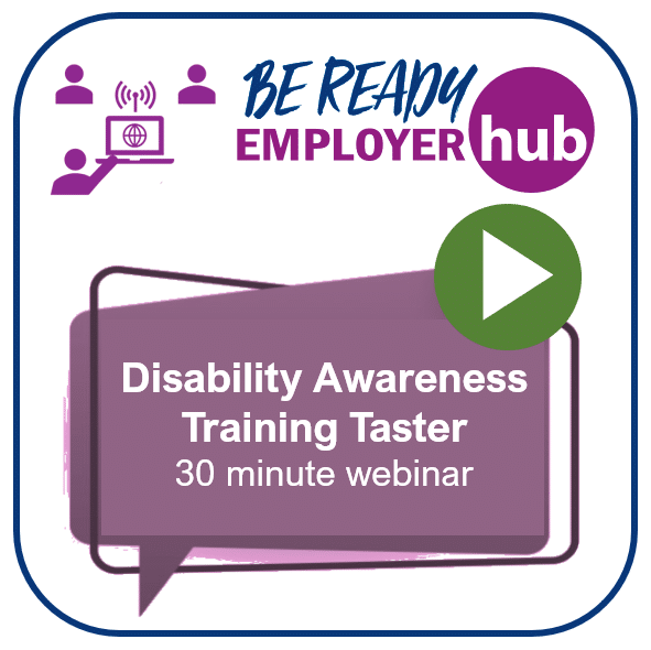 30 minute Taster: Introduction to Disability Awareness Training