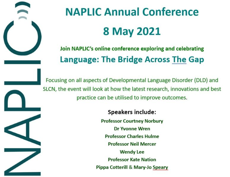 a poster for the NAPLIC conference 2021