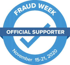 The Fraud Week logo - official supporter
