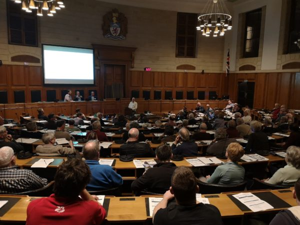 Council Chambers, Winter Forum 2020