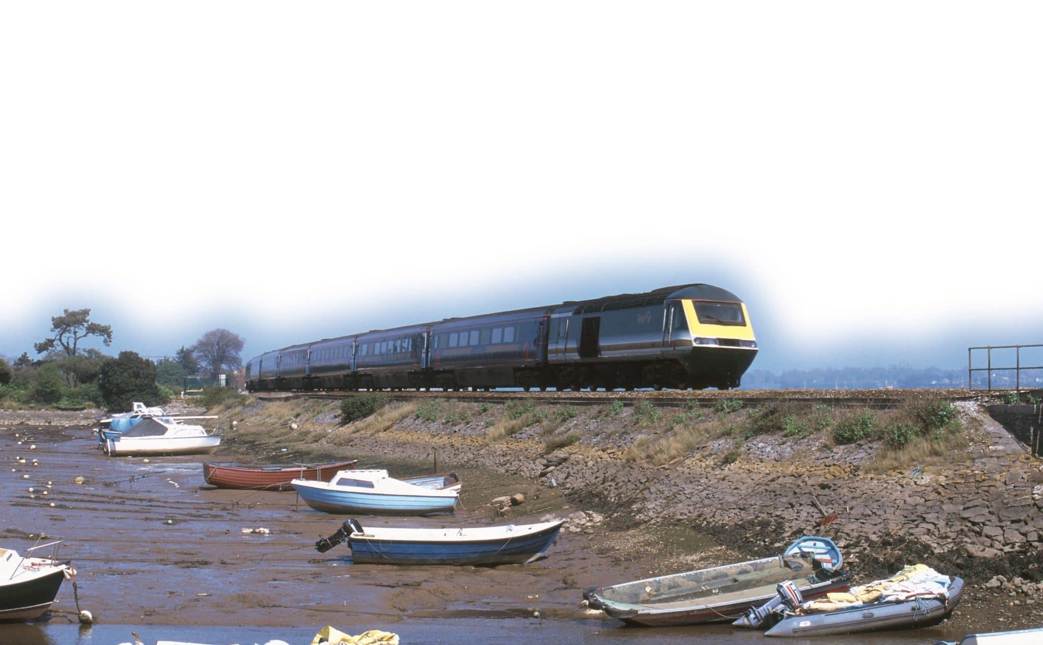 Train at Cockwood