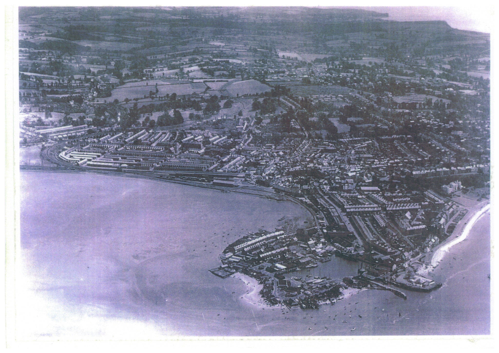 Exmouth Docks 1930