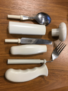 cutlery with grips