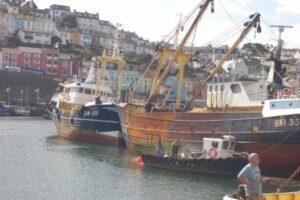 Trawlers in Brixham